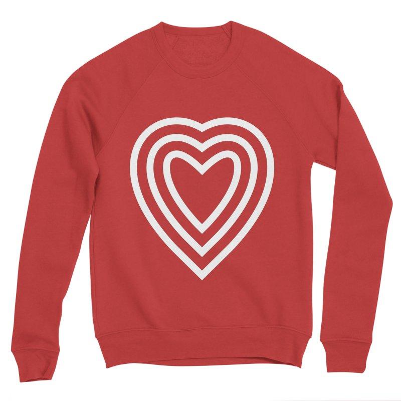 Love Women's Sponge Fleece Sweatshirt by elizabethreay's Artist Shop