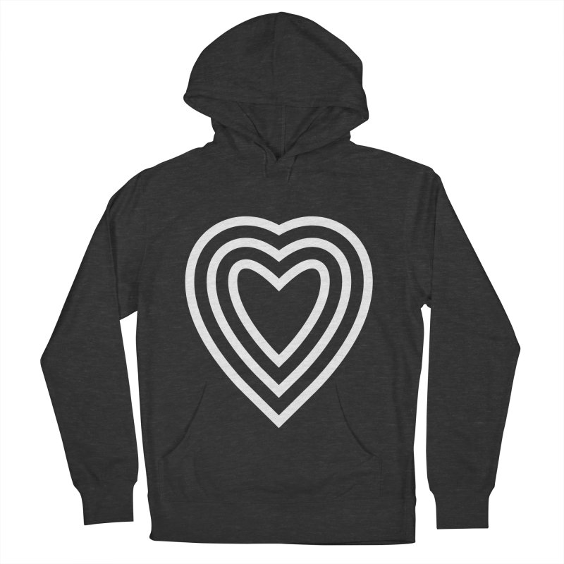 Love Men's French Terry Pullover Hoody by elizabethreay's Artist Shop