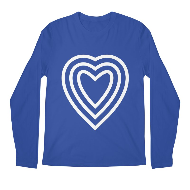 Love Men's Regular Longsleeve T-Shirt by elizabethreay's Artist Shop
