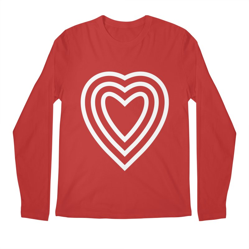 Love Men's Regular Longsleeve T-Shirt by elizabethreay's Artist Shop