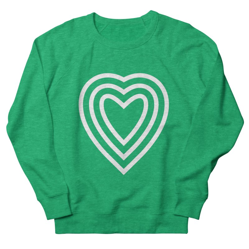 Love Women's French Terry Sweatshirt by elizabethreay's Artist Shop