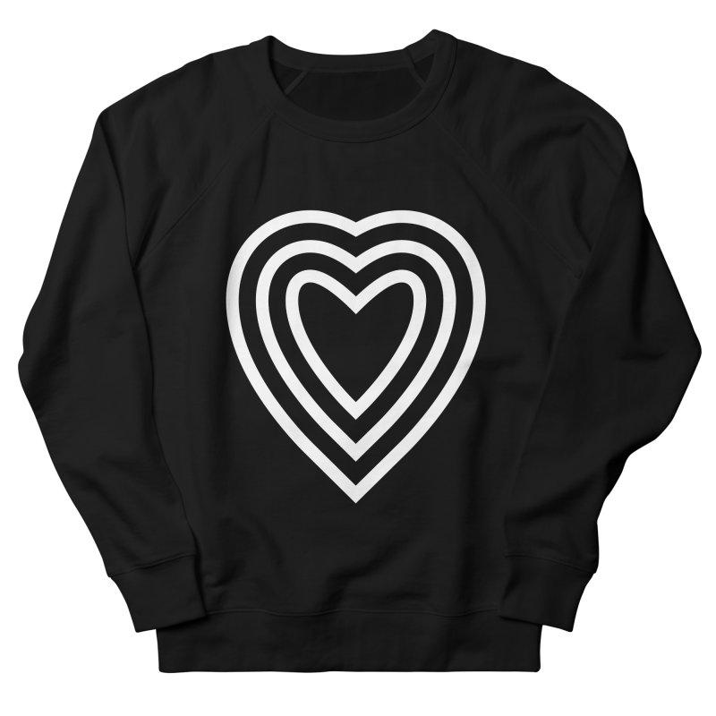 Love Men's French Terry Sweatshirt by elizabethreay's Artist Shop