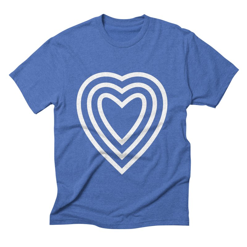 Love Men's Triblend T-Shirt by elizabethreay's Artist Shop