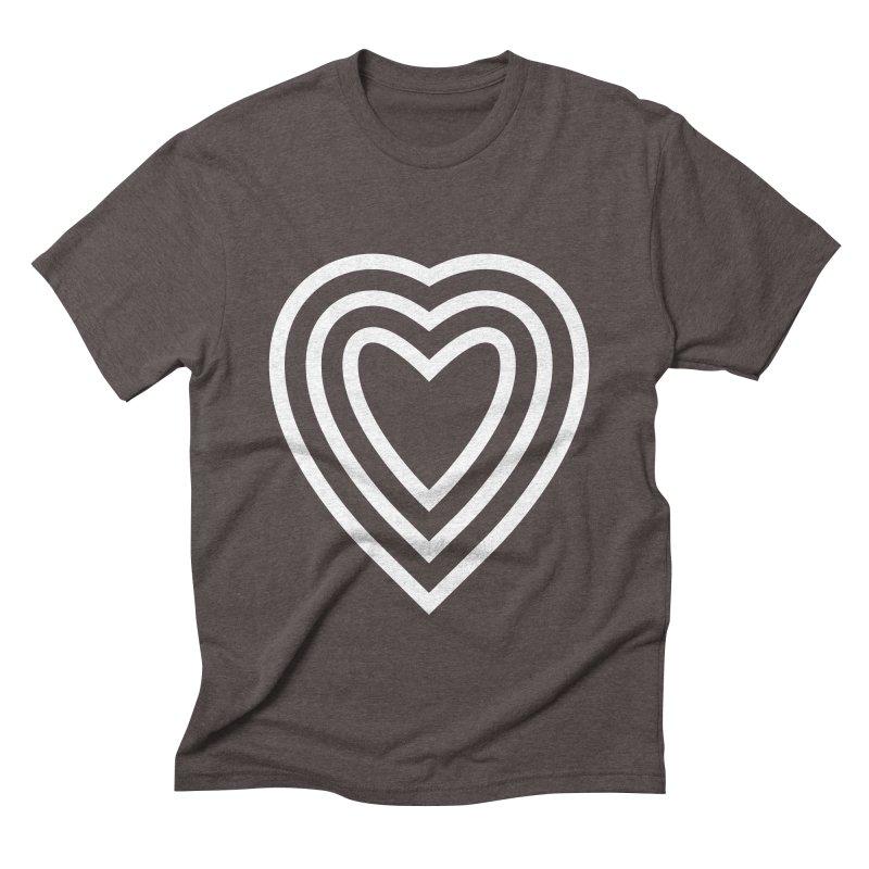 Love Men's Triblend T-Shirt by elizabethreay's Artist Shop