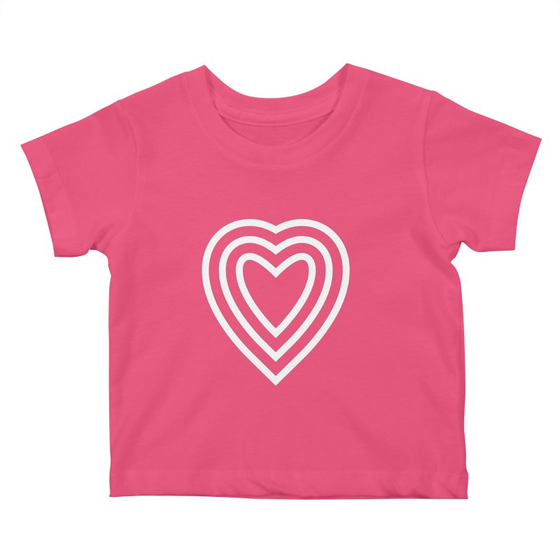 Love Kids Baby T-Shirt by elizabethreay's Artist Shop