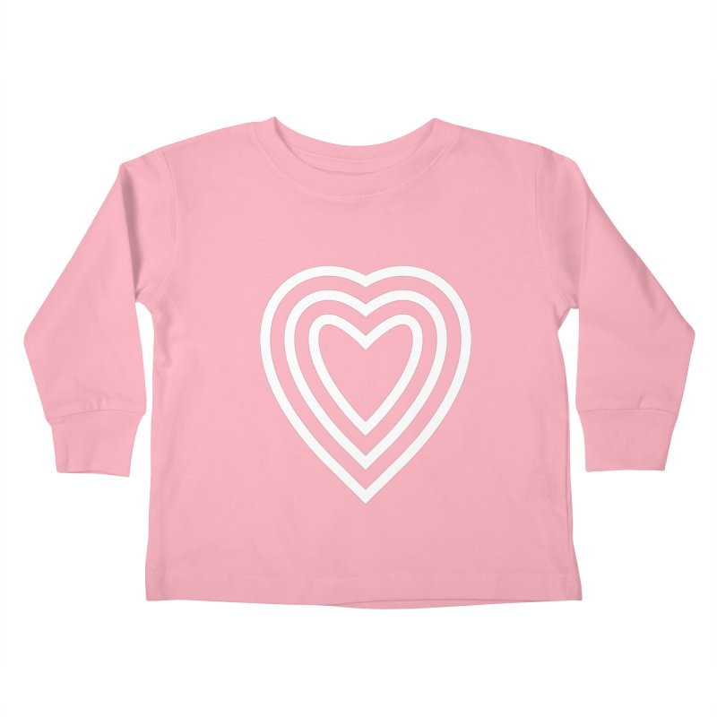 Love Kids Toddler Longsleeve T-Shirt by elizabethreay's Artist Shop