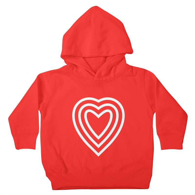 Love Kids Toddler Pullover Hoody by elizabethreay's Artist Shop
