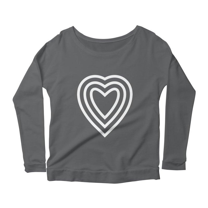 Love Women's Scoop Neck Longsleeve T-Shirt by elizabethreay's Artist Shop