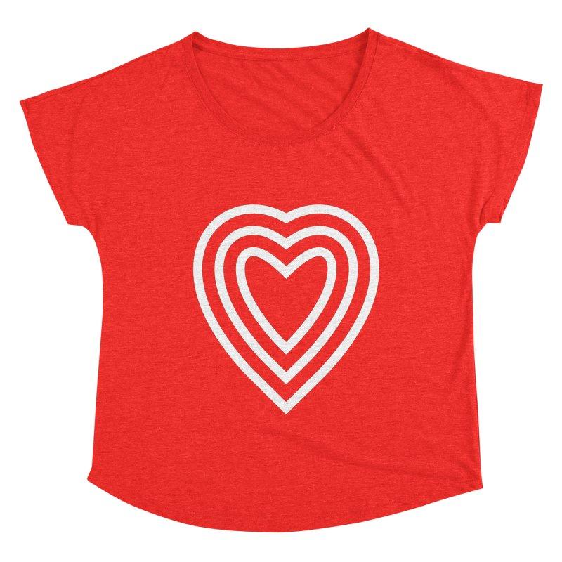 Love Women's Scoop Neck by elizabethreay's Artist Shop