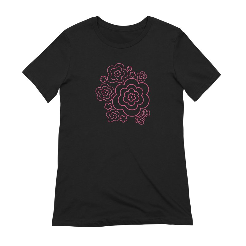Flower Power Women's Extra Soft T-Shirt by elizabethreay's Artist Shop
