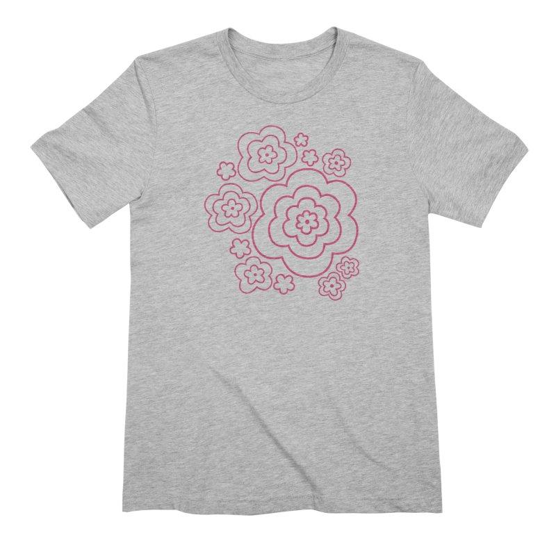 Flower Power Men's Extra Soft T-Shirt by elizabethreay's Artist Shop