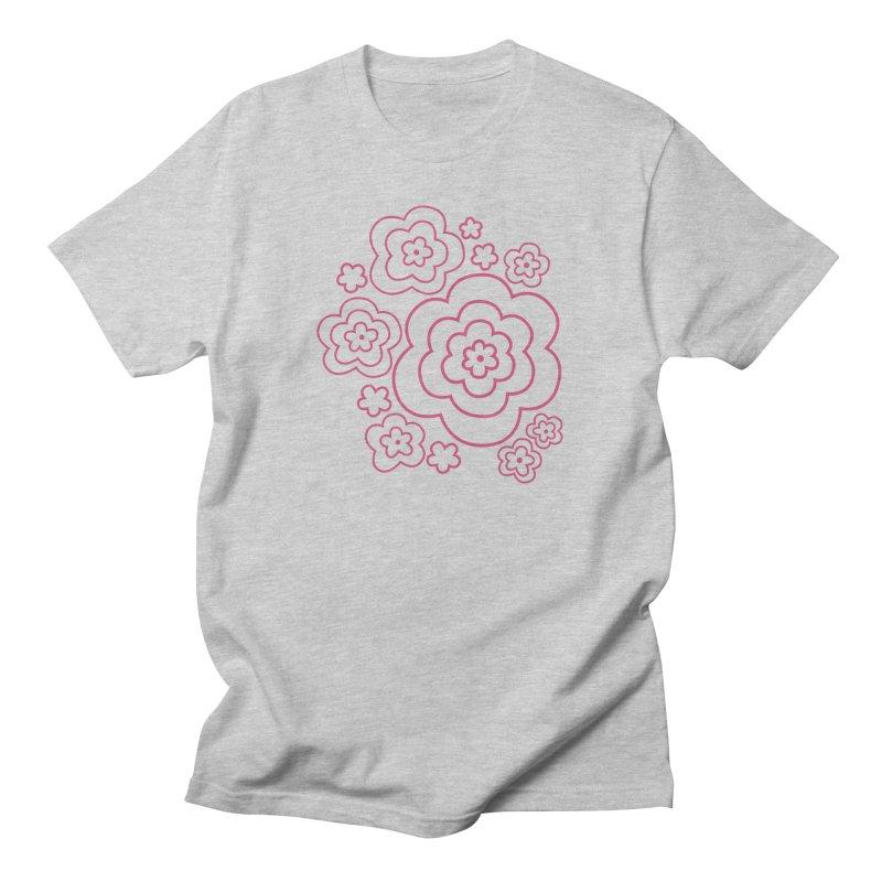 Flower Power Men's T-Shirt by elizabethreay's Artist Shop