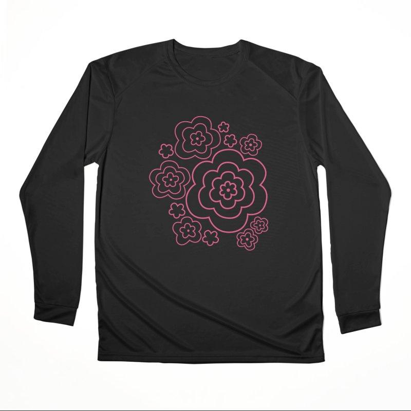 Flower Power Women's Performance Unisex Longsleeve T-Shirt by elizabethreay's Artist Shop