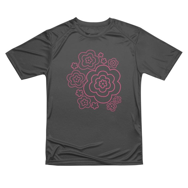 Flower Power Men's Performance T-Shirt by elizabethreay's Artist Shop