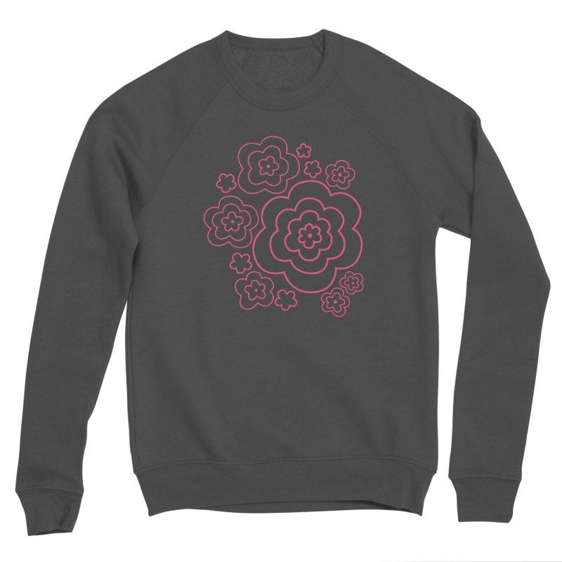 Flower Power Women's Sponge Fleece Sweatshirt by elizabethreay's Artist Shop