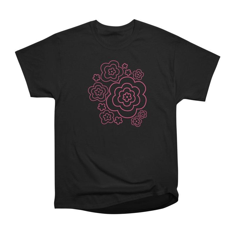 Flower Power Men's Heavyweight T-Shirt by elizabethreay's Artist Shop