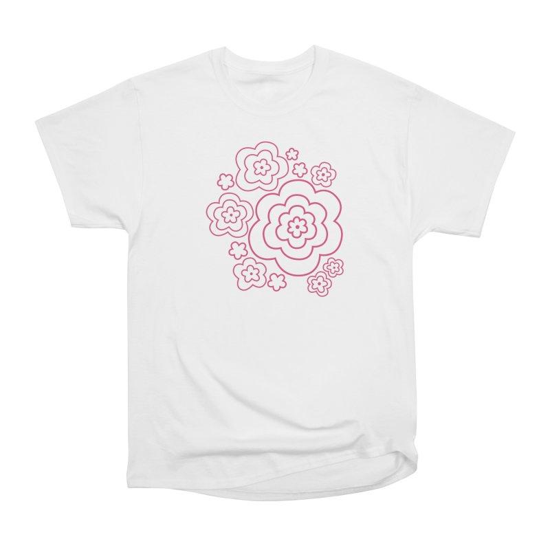 Flower Power Women's Heavyweight Unisex T-Shirt by elizabethreay's Artist Shop