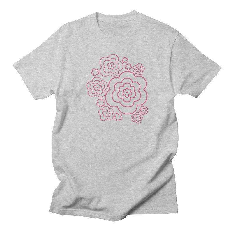 Flower Power Men's Regular T-Shirt by elizabethreay's Artist Shop