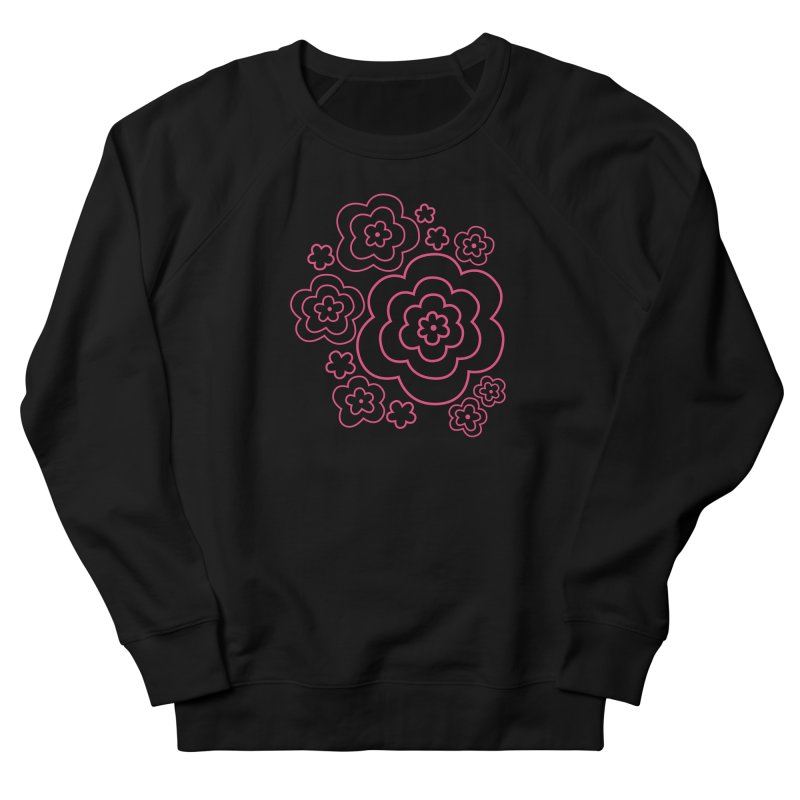 Flower Power Men's French Terry Sweatshirt by elizabethreay's Artist Shop