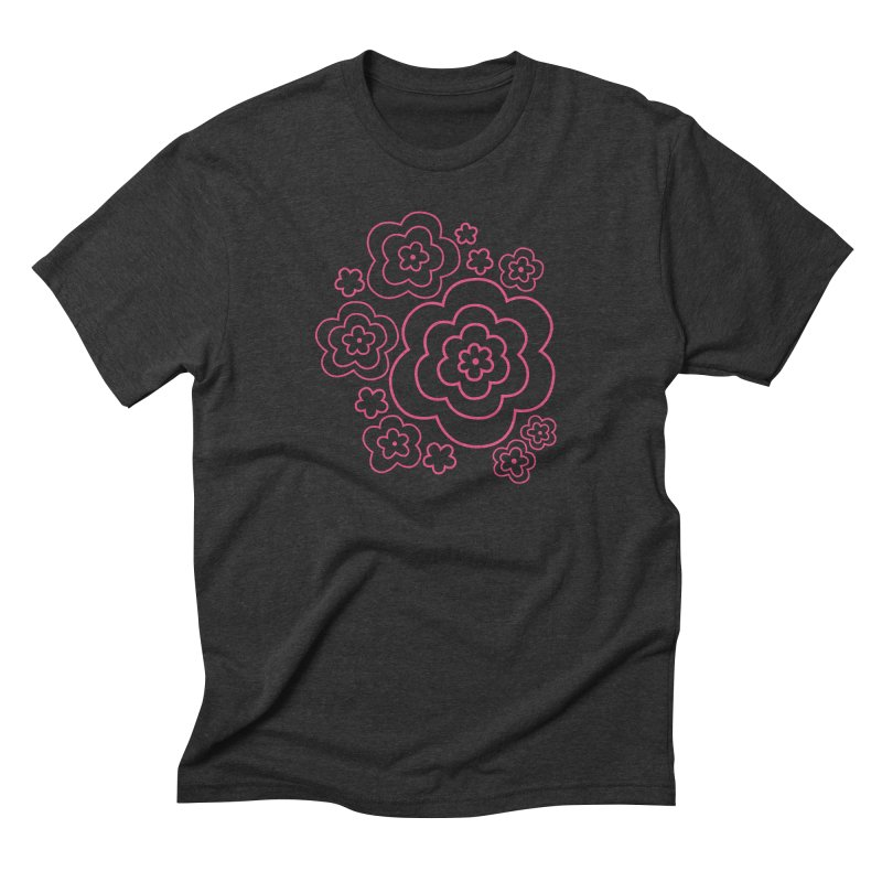 Flower Power Men's Triblend T-Shirt by elizabethreay's Artist Shop