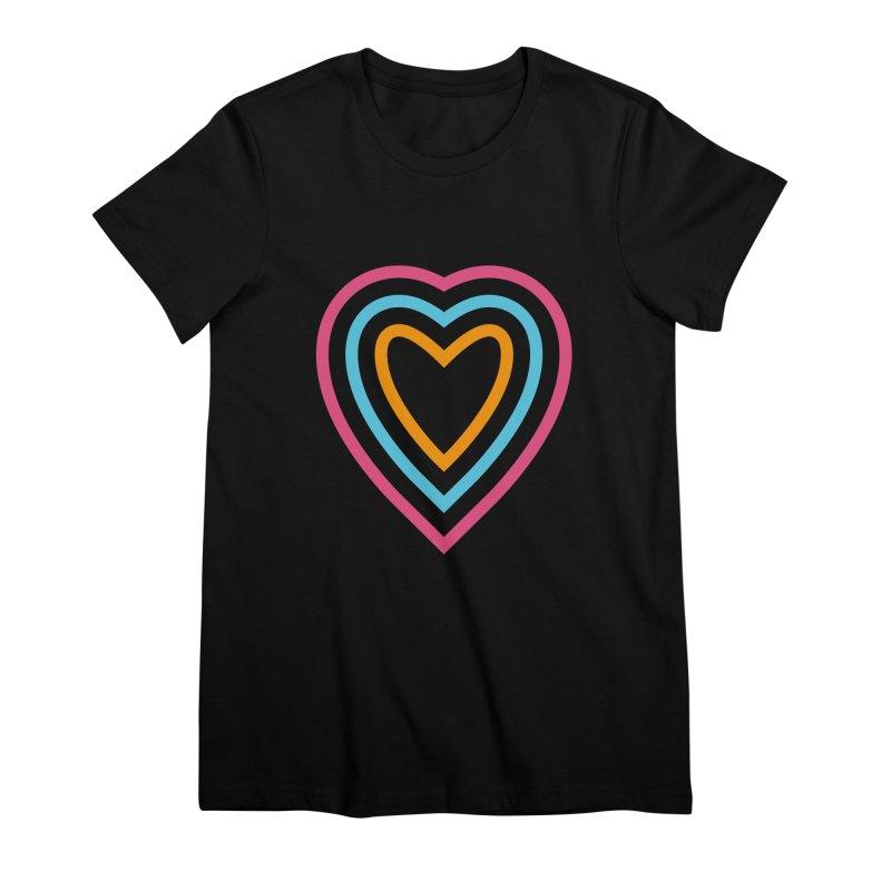 Color Love Women's Premium T-Shirt by elizabethreay's Artist Shop
