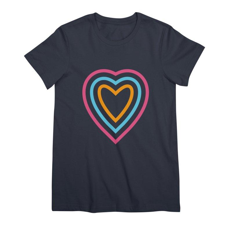 Color Love Women's T-Shirt by elizabethreay's Artist Shop