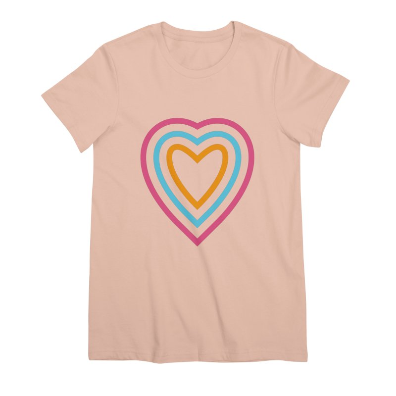 Color Love Women's Premium T-Shirt by elizabethreay's Artist Shop