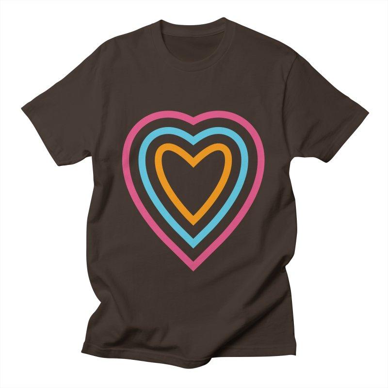 Color Love Men's T-Shirt by elizabethreay's Artist Shop