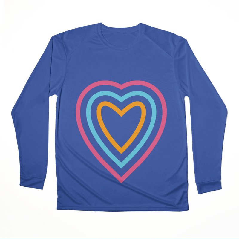 Color Love Men's Performance Longsleeve T-Shirt by elizabethreay's Artist Shop