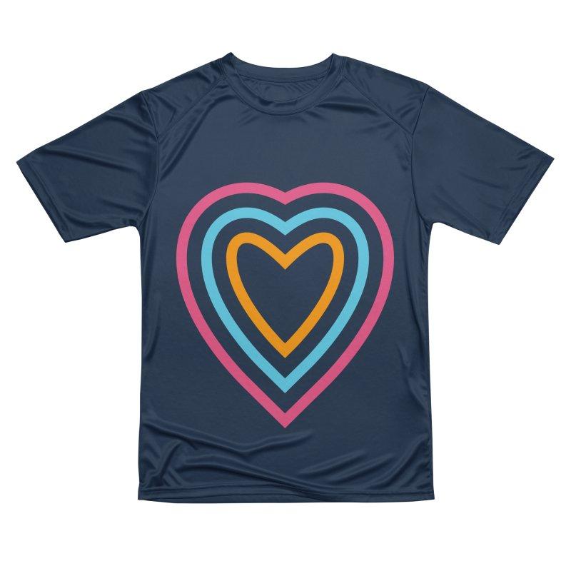 Color Love Men's Performance T-Shirt by elizabethreay's Artist Shop