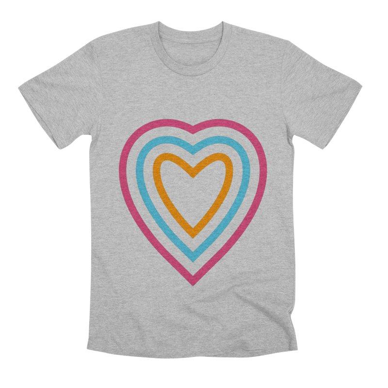 Color Love Men's Premium T-Shirt by elizabethreay's Artist Shop