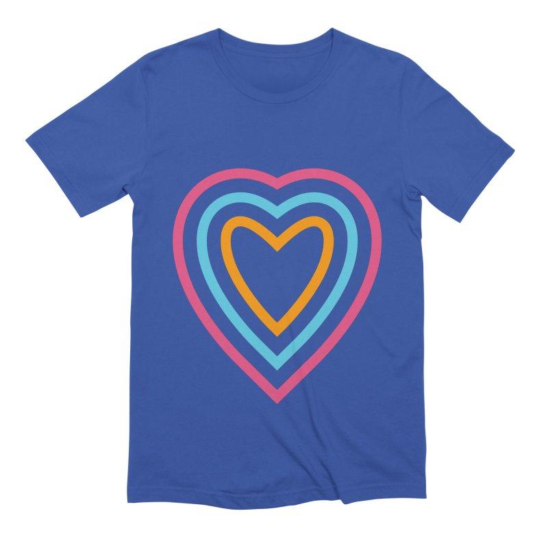 Color Love Men's Extra Soft T-Shirt by elizabethreay's Artist Shop