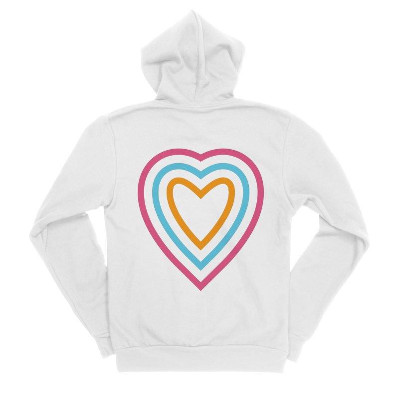 Color Love Women's Zip-Up Hoody by elizabethreay's Artist Shop