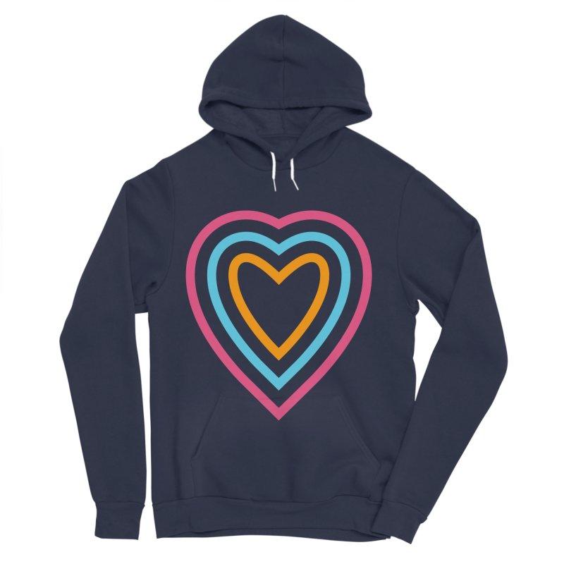 Color Love Men's Sponge Fleece Pullover Hoody by elizabethreay's Artist Shop