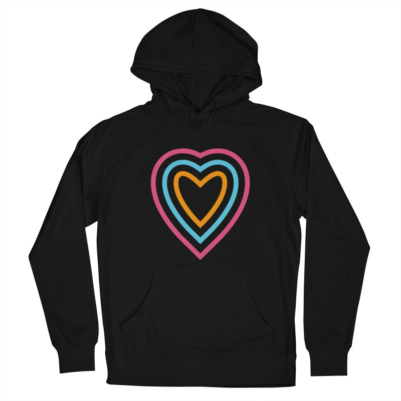 Color Love Men's French Terry Pullover Hoody by elizabethreay's Artist Shop