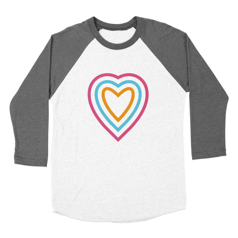 Color Love Women's Baseball Triblend Longsleeve T-Shirt by elizabethreay's Artist Shop
