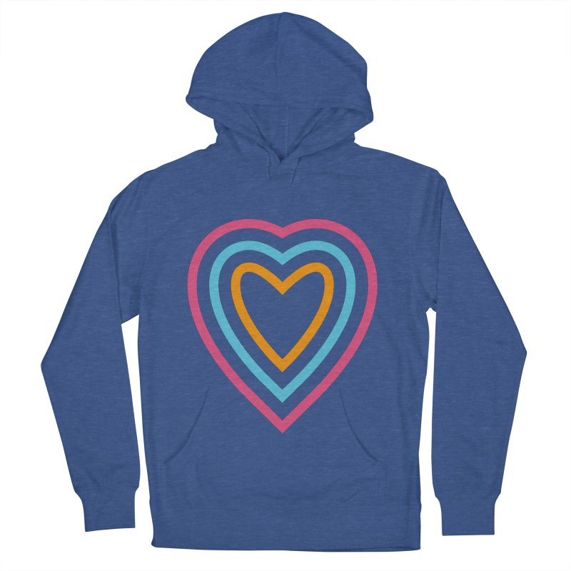 Color Love Women's French Terry Pullover Hoody by elizabethreay's Artist Shop