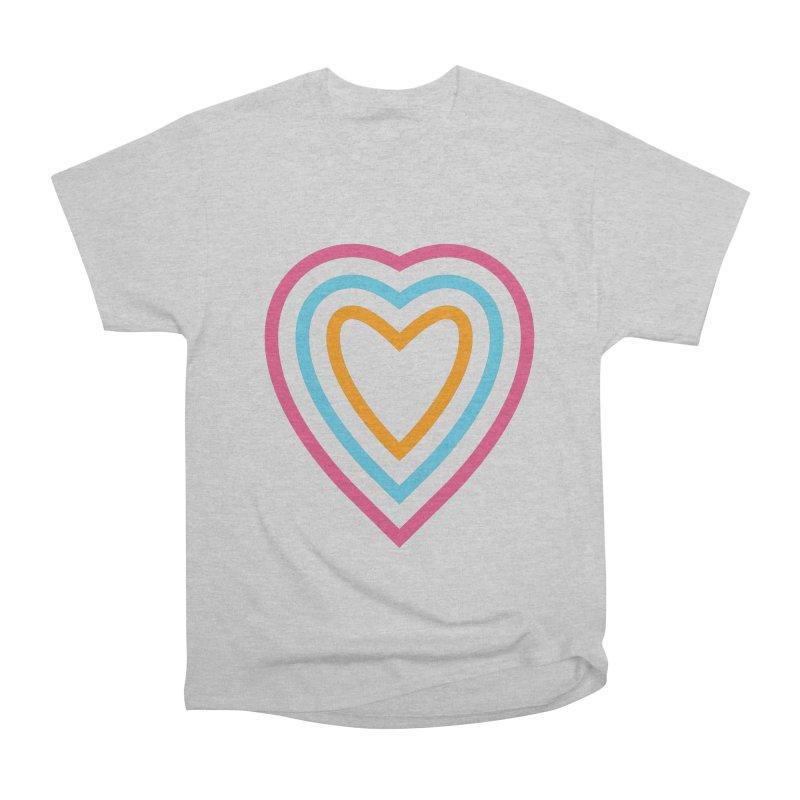 Color Love Women's Heavyweight Unisex T-Shirt by elizabethreay's Artist Shop