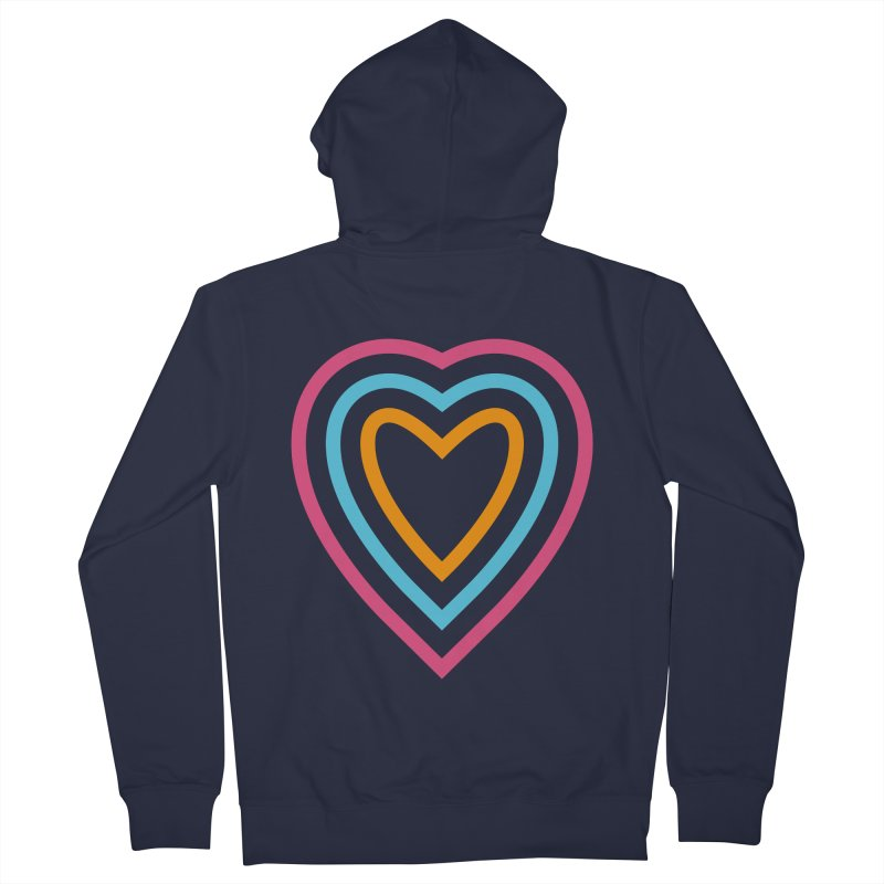 Color Love Women's French Terry Zip-Up Hoody by elizabethreay's Artist Shop