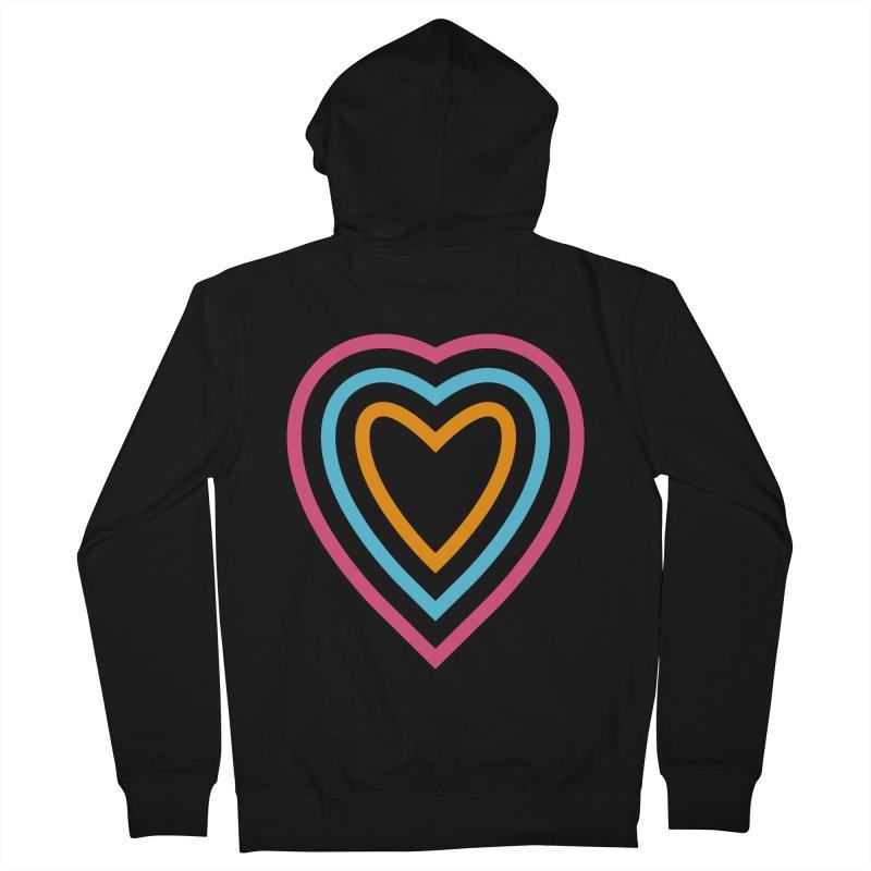 Color Love Men's Zip-Up Hoody by elizabethreay's Artist Shop