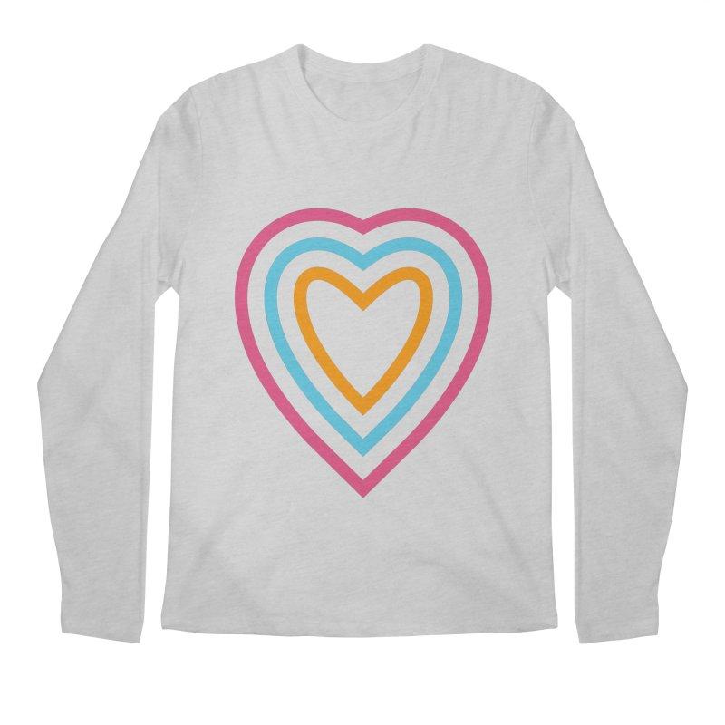 Color Love Men's Regular Longsleeve T-Shirt by elizabethreay's Artist Shop