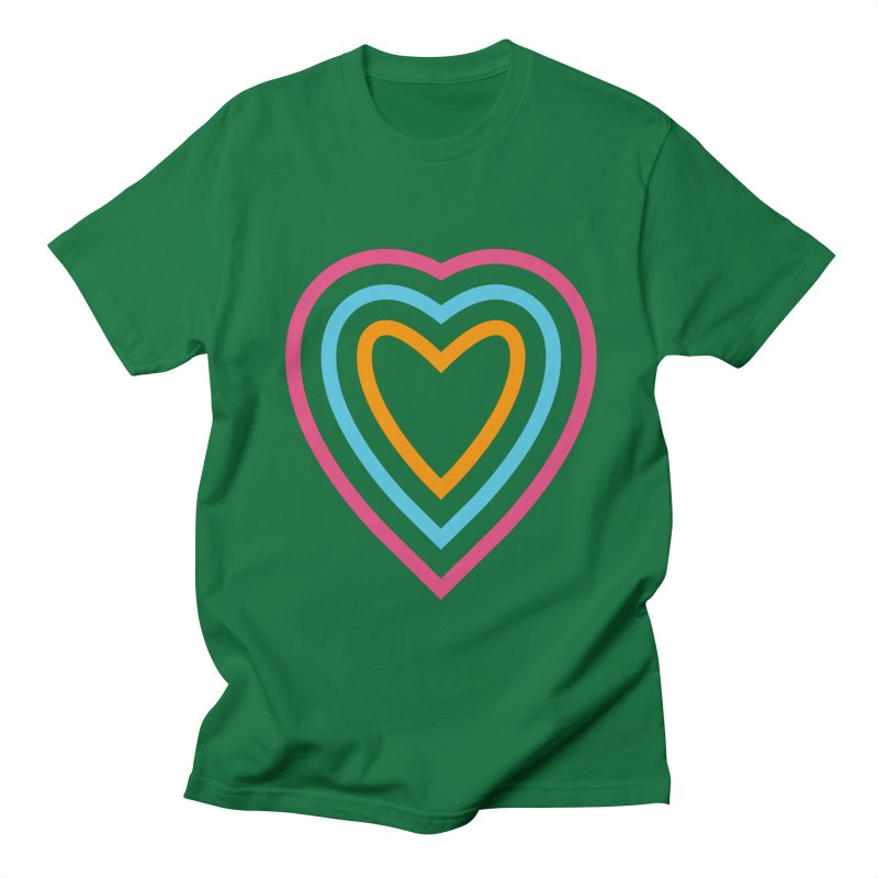 Color Love Men's T-Shirt by elizabethreay's Artist Shop