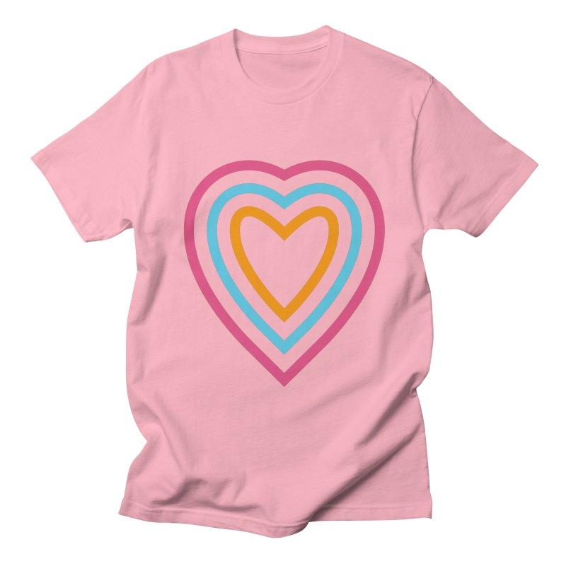 Color Love Men's Regular T-Shirt by elizabethreay's Artist Shop