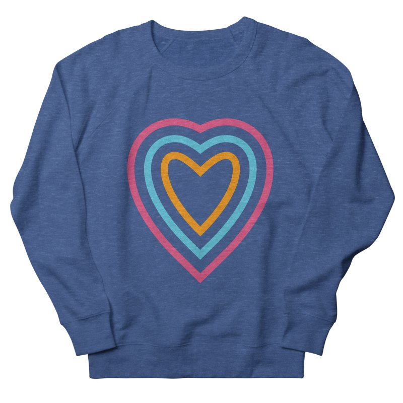 Color Love Women's French Terry Sweatshirt by elizabethreay's Artist Shop
