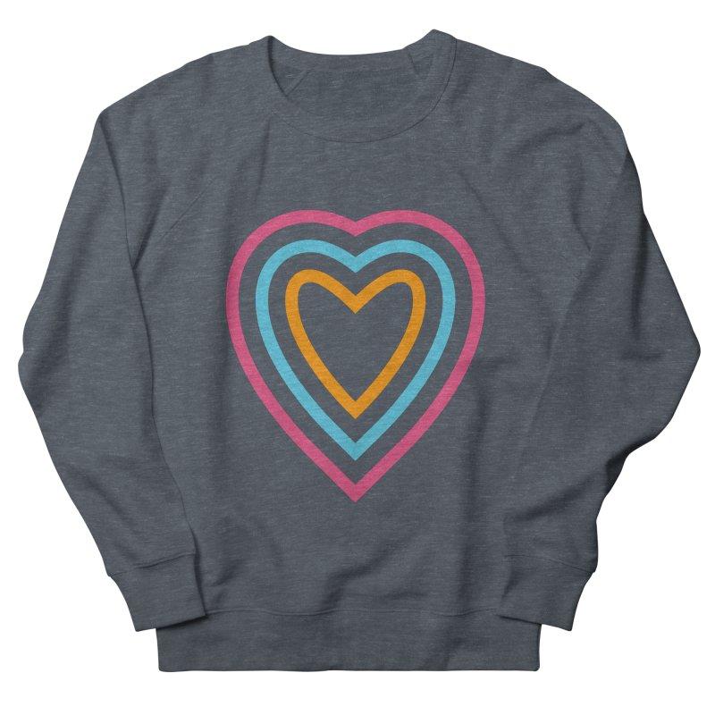 Color Love Men's French Terry Sweatshirt by elizabethreay's Artist Shop
