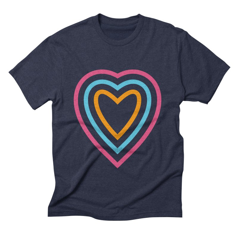 Color Love Men's Triblend T-Shirt by elizabethreay's Artist Shop