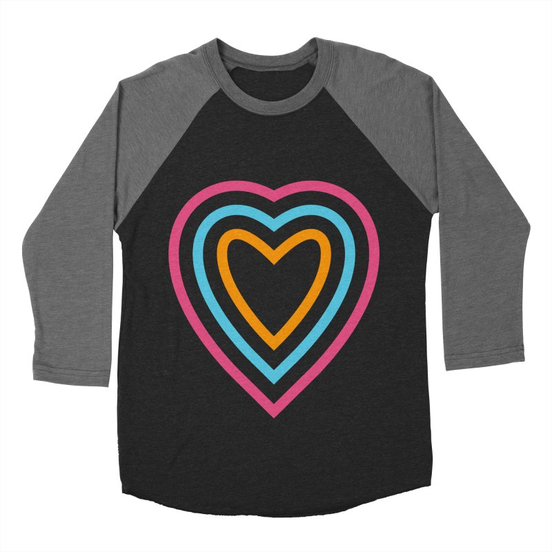 Color Love Women's Baseball Triblend Longsleeve T-Shirt by elizabethreay's Artist Shop
