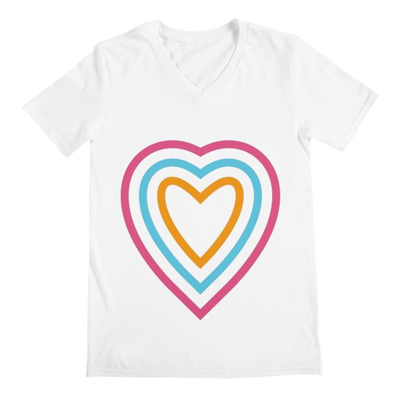Color Love Men's V-Neck by elizabethreay's Artist Shop