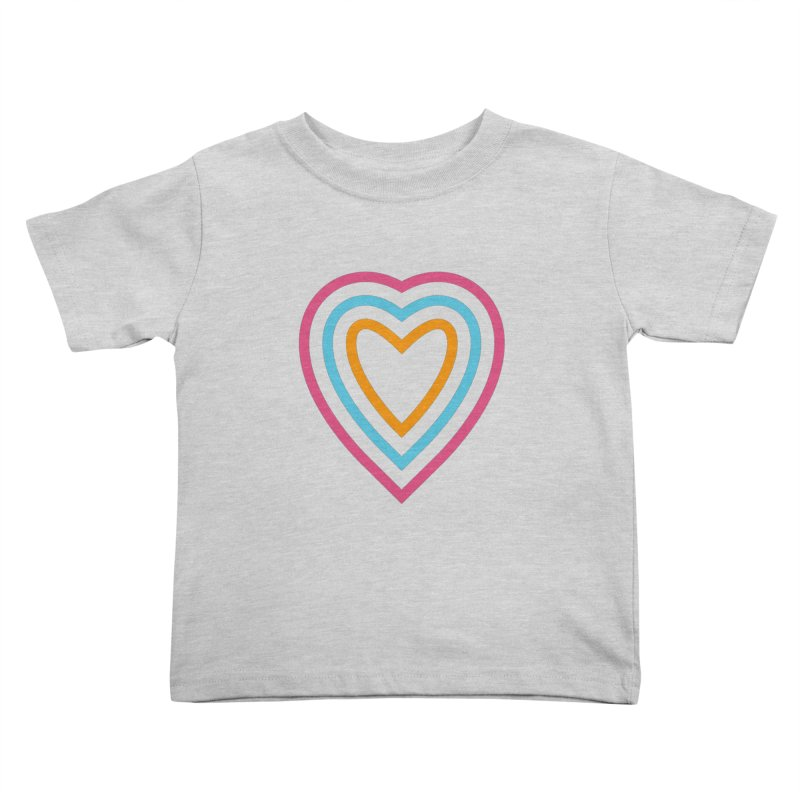 Color Love Kids Toddler T-Shirt by elizabethreay's Artist Shop