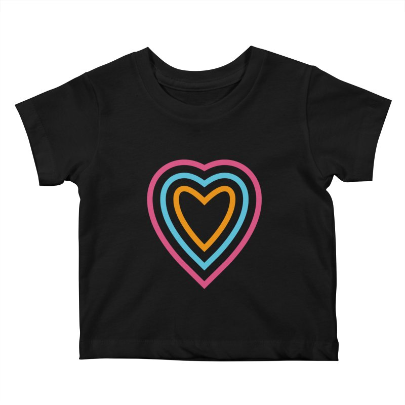 Color Love Kids Baby T-Shirt by elizabethreay's Artist Shop